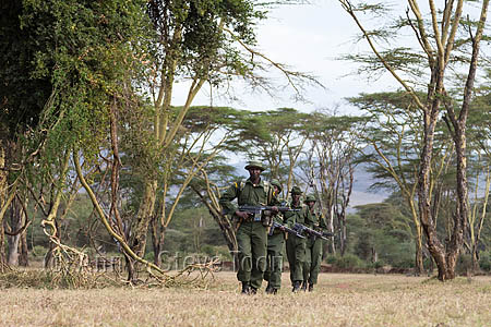 Anti-poaching patrol, Lewa