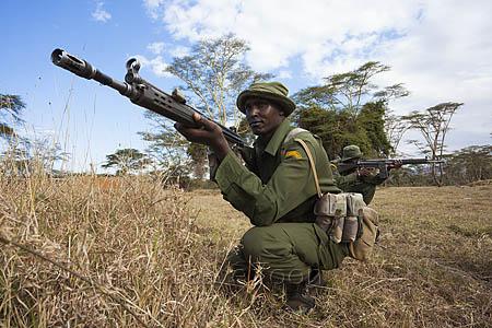 Anti-poaching patrol, Lewa