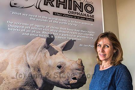 Karen Trendler, Rhino Response Strategy, Thula Thula rhino orphanage, KwaZulu-Natal, South Africa, May 2015