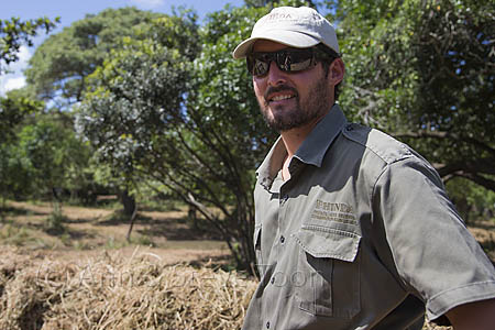 ACPT03 Simon Naylore, reserve manager of Phinda at white rhino b